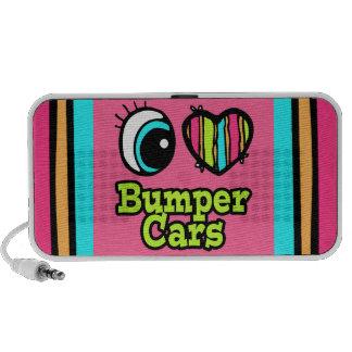 Bright Eye Heart I Love Bumper Cars Speaker System