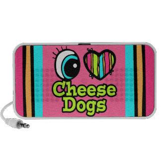Bright Eye Heart I Love Cheese Dogs Speaker System