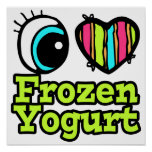 Bright Eye Heart I Love Frozen Yogurt