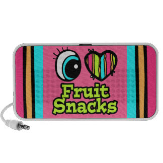 Bright Eye Heart I Love Fruit Snacks Speaker