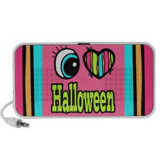 Bright Eye Heart I Love Halloween Mini Speaker
