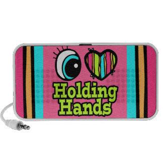 Bright Eye Heart I Love Holding Hands Travelling Speaker