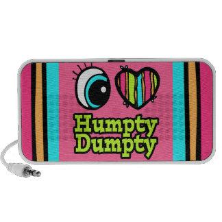 Bright Eye Heart I Love Humpty Dumpty Travelling Speaker