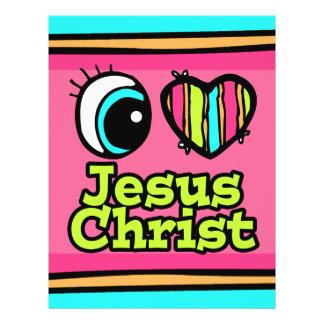 Bright Eye Heart I Love Jesus Christ Full Color Flyer