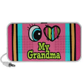 Bright Eye Heart I Love My Grandma Speakers