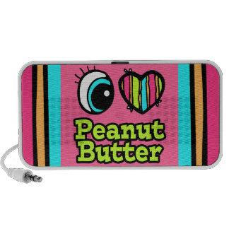 Bright Eye Heart I Love Peanut Butter Speakers