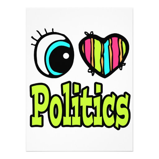 Bright Eye Heart I Love Politics Announcements