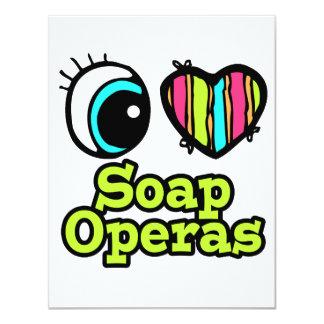 Bright Eye Heart I Love Soap Operas Custom Announcement