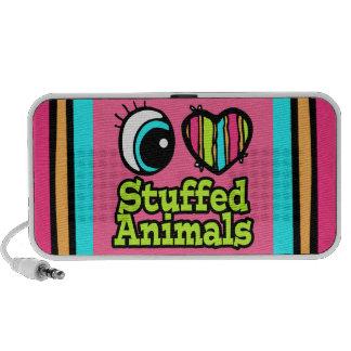 Bright Eye Heart I Love Stuffed Animals Travel Speakers