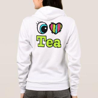 Bright Eye Heart I Love Tea Hoodie