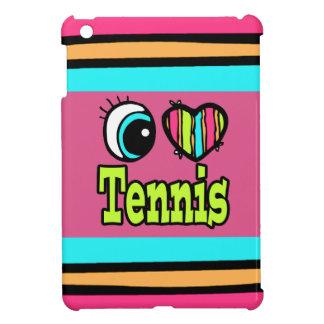 Bright Eye Heart I Love Tennis Cover For The iPad Mini