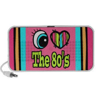 Bright Eye Heart I Love the 80s Speaker System
