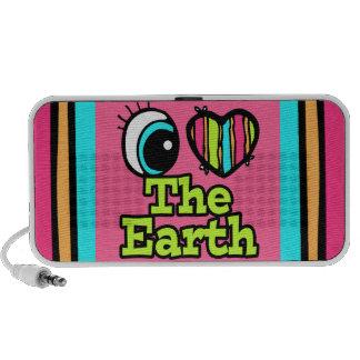 Bright Eye Heart I Love The Earth Travelling Speaker