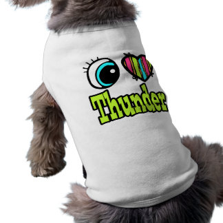 Bright Eye Heart I Love Thunder Shirt