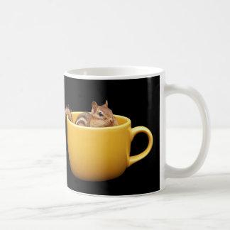 bright eyed and bushy tailed chipmunk coffee mugs