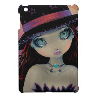Bright Eyed Witch Big-Eye Art iPad Mini Covers