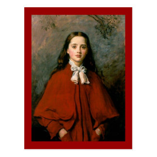 Bright Eyes by Sir John Everett  Millais Postcard