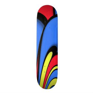 Bright  Festive Colors Skate Board Decks