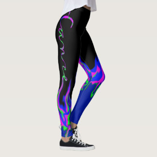 Bright Flames Dance Leggings