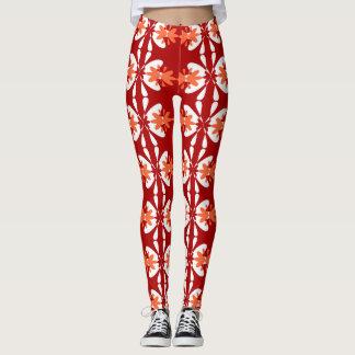 Bright Floral Pattern 2 Leggings