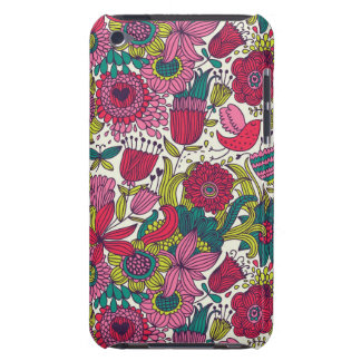Bright floral pattern Case-Mate iPod touch case