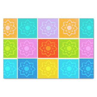 Bright Floral  Pattern Tissue / Decoupage paper