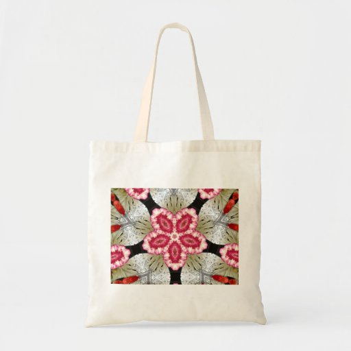 Bright Flower Budget Tote Canvas Bags
