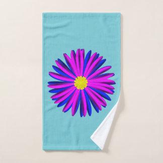 Bright flower hand towel