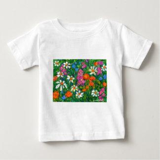 Bright Flowers Baby T-Shirt