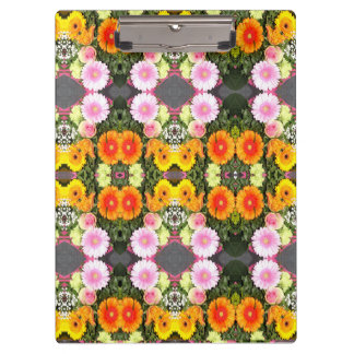 Bright Flowers Clipboard