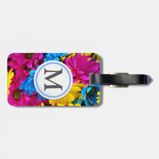Bright Flowers Luggage Tag