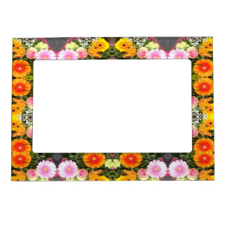 Bright Flowerss Magnetic Frame