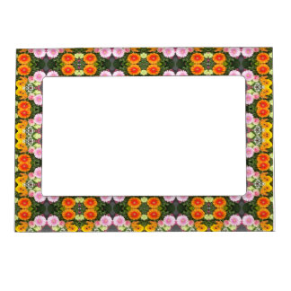 Bright Flowerss Magnetic Frame