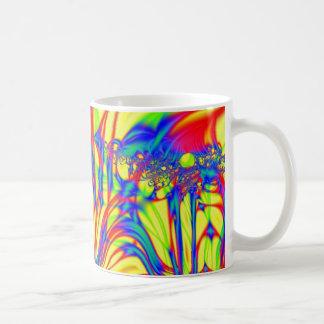 Bright Fractal Mugs