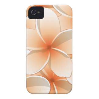 Bright Frangipani/ Plumeria flowers iPhone 4 Case-Mate Case