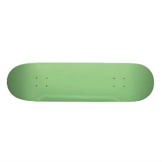 Bright Fresh Spring Mint Green Solid Color 19.7 Cm Skateboard Deck