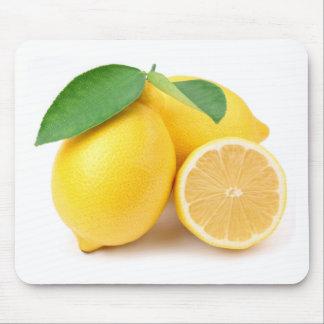 Bright & Fresh Yellow Lemons Mouse Pad