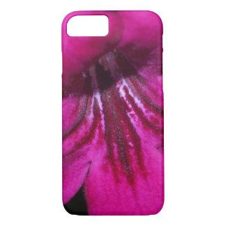 Bright fuchsia primrose macro iPhone 7 case