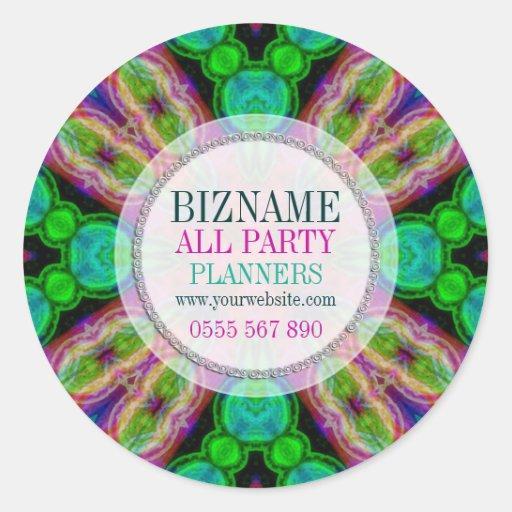 Bright Fun & Colourful Business Product Sticker