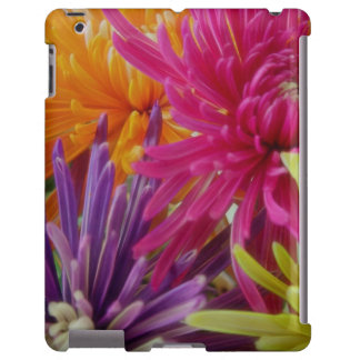 bright fun flowers abstract happy colorful summer