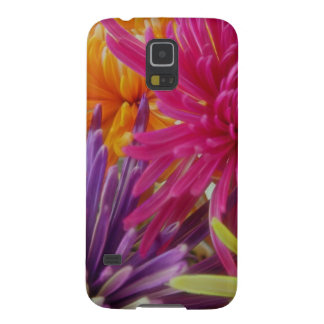 bright fun flowers abstract happy colorful summer galaxy s5 case