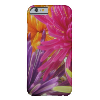 bright fun flowers abstract happy colorful summer barely there iPhone 6 case