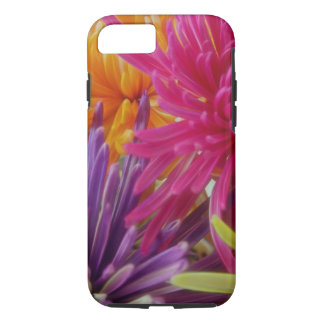 bright fun flowers abstract happy colorful summer iPhone 7 case