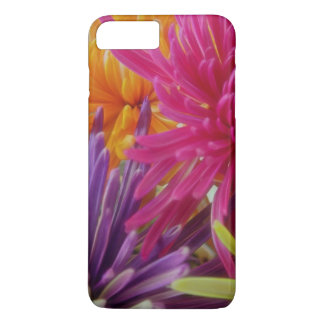 bright fun flowers abstract happy colorful summer iPhone 7 plus case