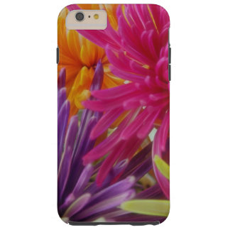 bright fun flowers abstract happy colorful summer tough iPhone 6 plus case