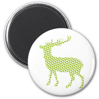 Bright funky deer magnets