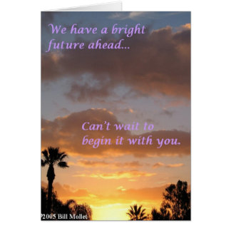 Bright Future Ahead Card