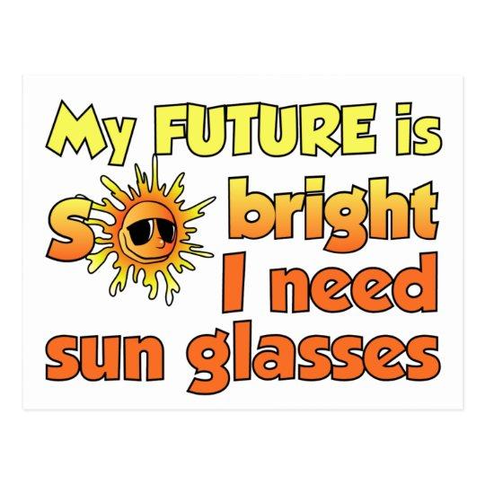 Bright Future postcard