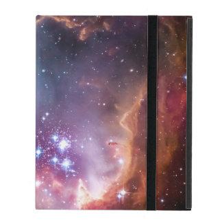 Bright galaxy iPad folio case