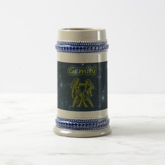 Bright Gemini Beer Stein